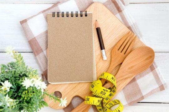 każdy dzień zawiera listę składników odżywczych: od tłuszczu do kalorii
