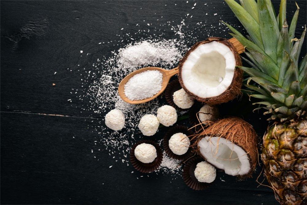 Cukier kokosowy zamiast cukru idealnie nadaje się do ciast i ciasteczek.
