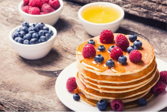 naleśniki w słodkim wydaniu – oczywiście dla diety odchudzającej