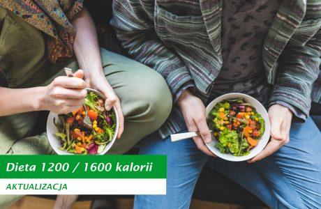Nowa dieta 1200 kalorii dla kobiet
